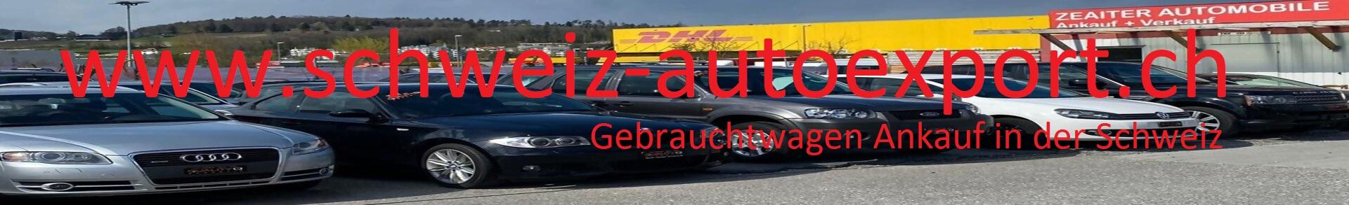 Schweiz Autoexport